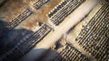 Bursa'da koronavirüs kaynaklı ölümler artınca yüzlerce yeni mezar yeri açıldı