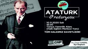 Atatürk Oratoryosu  Programımıza Davet