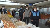 Tarsus Pazar Yerlerin'de Maske Ve Hijyen Önemi