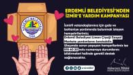 Erdemli Belediyesi'nden İzmir'e Yardım Kampanyası