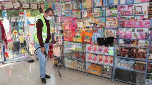 Toroslar'ın Dört Bir Yanı Dezenfekte Ediliyor