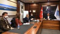 Başkan Seçer; Afd, Ab Delegasyonu Ve İller Bankası Yetkilileri İle Bir Araya Geldi