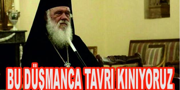 Yunan Başpiskoposunun İslam ve Müslümanlar için söylediği hadsiz sözlere tepki yağdı
