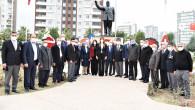 RAUF DENKTAŞ VE DR. FAZIL KÜÇÜK,  TOROSLAR'DA TÖRENLE ANILDI