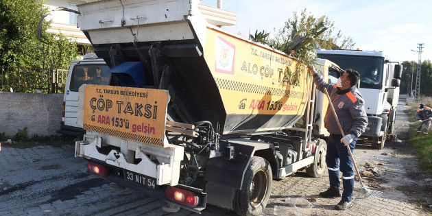 Tarsus Belediyesi 40 Kişilik Ekiple Temizlik Seferberliği Başlattı