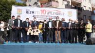 Tarsus Belediyesi Hizmet Atağına Hız Kesmeden Devam Ediyor, 2 Günde 10 Açılış Yapıldı