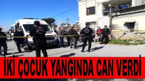 Tarsus'ta Yeşil Mahallede Feci Olay 2 Çocuk Yangında Can Verdi