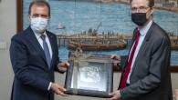 Başkan Seçer, Ab Türkiye Delegasyonu Başkanı Büyükelçi Nıkolaus Meyer-Landrut'u Ağırladı