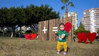 Büyükşehir, Mersin'i 14 Şubat İçin Sevgiyle Renklendirdi