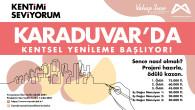 Büyükşehir'den  Karaduvar Mahallesi İçin Kentsel Yenileme Yarışması
