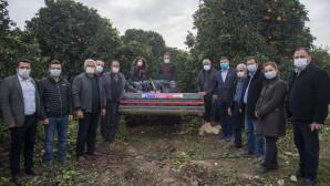 Büyükşehir'den Üreticiye Bu Kez de Bitkisel Atık Kıyma Makinesi
