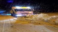 Toroslar'da Karla Kaplıyollar Açıldı, Mahsur Kalanlar Kurtarıldı