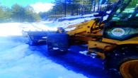 Toroslar Belediyesi'nin Karla Mücadele Ekibi İş Başında