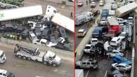 ABD'de 130 aracın birbirine girdiği zincirleme kazada ölü sayısı 6'ya yükseldi