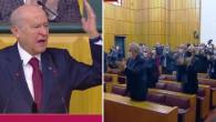 Parti Grubunda Konuşan Bahçeli'nin HDP'ye Yönelik Sözleri Salonu Ayağa Kaldırdı