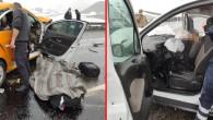Çarpışan araçlardan savruldular: 3 ölü, 7 yaralı