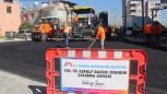 Büyükşehir, Mezitli'de Üç Caddede Sıcak Asfalt Çalışması Yaptı