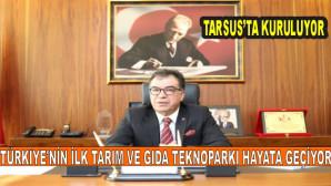 Türkiye'nin ilk tarım ve gıda teknoparkı hayata geçiyor