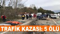 Muğla'da Tırla Otomobilin Çarpışması Sonucu 5 Kişi Hayatını Kaybetti