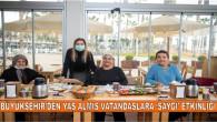 Mersin Büyükşehir'den Yaş Almış Vatandaşlara 'Saygı' Etkinliği