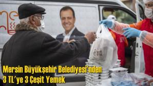 Büyükşehir, Tarsus'ta 6 noktada 3 TL'ye 3 çeşit yemek ulaştırıyor