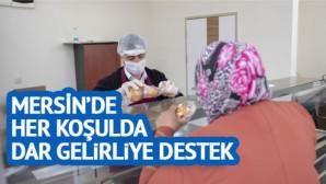 """Mersin Büyükşehir'den Mahalle Mutfak """"Büfeleri"""""""