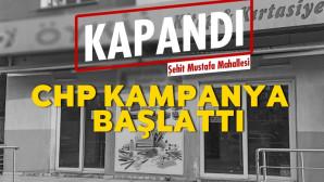 Tarsus'ta CHP 'den Ses Getiren Kampanya