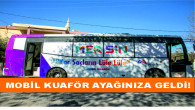 Büyükşehir, Mobil Kuaför'le 5 Ayda 2 Bin Kişiye Ulaştı