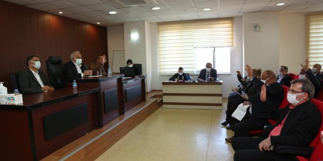 Erdemli Belediye Mart Ayı Meclisi Toplantısı Yapıldı