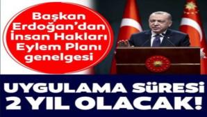 Başkan Erdoğan'dan yeni genelge! Uygulama Süresi 2 yıl olacak