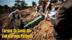 Tarsus'ta Covid-19 Nedeniyle Hayatını Kaybedenlerin Sayısı 678'e Ulaştı