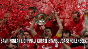 Ev sahipliği yapacağımız Şampiyonlar Ligi Finali'nin kupası İstanbul'da ziyaretçileriyle buluşacak
