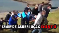 İzmir'de askeri uçak düştü! Denize düşen 2 pilot böyle kurtarıldı