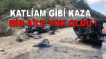 Katliam Gibi Kaza! Bir Aile Yok Oldu, 3 Kişi Yaralandı