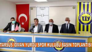 Tarsus İdman Yurdu Spor Kulübü Basın Toplantısı