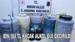 Bin 184 Litre Kaçak Alkol Ele Geçirildi