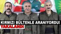 Kırmızı bültenle aranan eylem hazırlığındaki PKK/KCK'lı terörist etkisiz hale getirildi