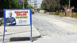Tarsus Belediyesi Tam Kapanmayı Fırsata Çevirip Yol Çalışmalarına Hız Verdi