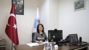 Büyükşehir Başkan Vekili Gülcan Kış, Uclg-Mewa Çevrim İçi Yönetim Kurulu Toplantısına Katıldı