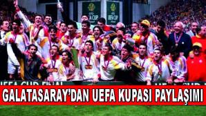 Galatasaray'dan anlamlı UEFA Kupası paylaşımı