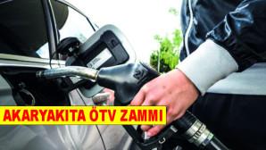 Akaryakıtta ÖTV zammı (Akaryakıt fiyatları ne kadar oldu?)