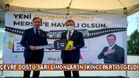 ÇEVRE DOSTU SARI LİMONLAR'IN İKİNCİ PARTİSİ GELDİ