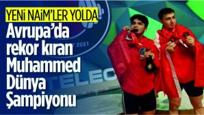 Milli halterci Muhammed Furkan Özbek Dünya Şampiyonu