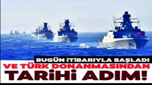 Denizkurdu 2021 başladı!Egeve Akdeniz'de en kapsamlı tatbikat
