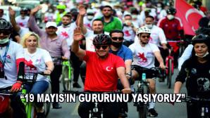 """""""19 MAYIS'IN GURURUNU YAŞIYORUZ"""""""