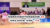Mersin Büyükşehir Kadın Basketbol Takımı Play-Off'akaldı