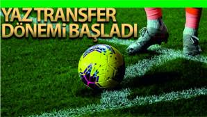 Futbolda 2021-2022 sezonu birinci transfer ve tescil dönemi başladı.