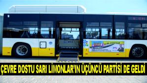 ÇEVRE DOSTU SARI LİMONLAR'IN ÜÇÜNCÜ PARTİSİ DE GELDİ