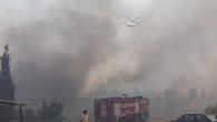 Mersin Büyükşehir, Tüm Ekipleri İle Yangın Bölgesinde Seferber Oldu
