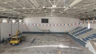 Büyükşehir'den Yenişehir Spor Salonu'nda Tadilat Çalışması
